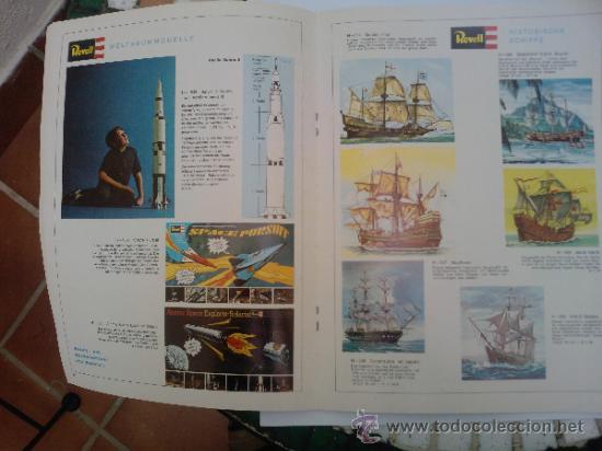 Hobbys: -CATALOGO REVELL 1969 ALEMAN 46 PAG - Foto 5 - 34629128